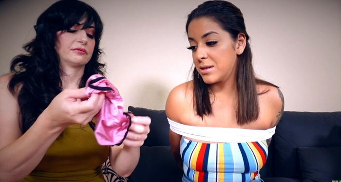 Burglar Nyxon Ties And Gags Mia To Find Values