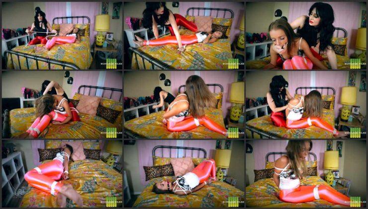 Nyxon and Lola loves play into a sensual bondage