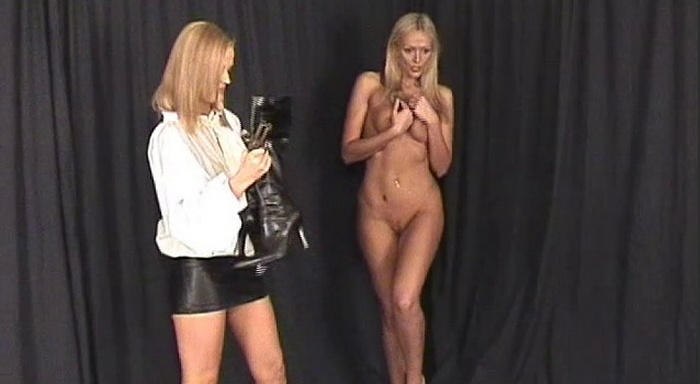Short sharp and sexy clips from the past Part 1 Jasmine makes Lucy strip